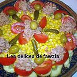 recette Salade fraiche