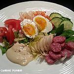recette Petite salade d'un soir d'hiver