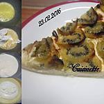 recette Tarte aux kiwis.mascarpone.