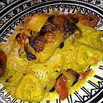 recette Tajine de poulet et citron confit