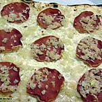 recette Flammeküche au bacon