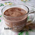 recette Cacao chaud au caramel