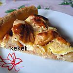recette Tarte aux pommes avec compote