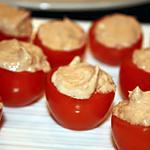 recette Tomates cerises au thon