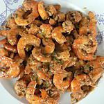 recette Poêlée de crevettes à la chicorée (compatible dukan)