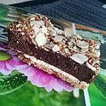 recette Moelleux chocolat / fond speculoos-petit beurres