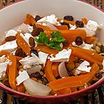 recette Salade de pois chiches aux légumes d'hiver et à la fêta