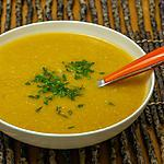 recette Soupe de pois chiches