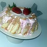 recette Charlotte aux fraises mascarpone