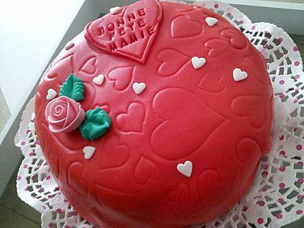 Un Amour De Gâteau De Fêtes Des Grand Mére Pour Ma Mamie