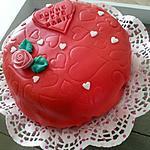 recette Un amour de gâteau de fêtes des grand-mére pour ma Mamie