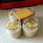recette Crème aux petits beurre