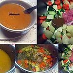 recette Soupe veloutée aux légumes.