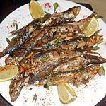 recette Sardines poelées a la myrte