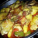 recette Ragoût basquaise au chorizo