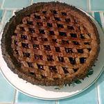 recette Linzertorte - Tarte sablée à la framboise !