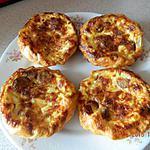 recette Tartelettes aux knackis