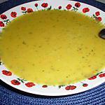 recette Soupe de pois cassés