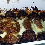 recette Nouilles gratinées au minis fricadelles