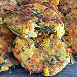 recette Galettes de petits légumes (compatible dukan)