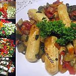 recette Quenelles de brochet aux légumes ensoleillés.