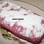 recette Gâteau à la crème de framboises
