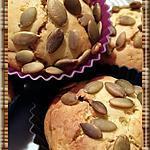 recette Muffins à la citrouille