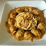 recette Curry de boeuf rendang