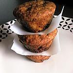 recette Muffins aux pépites de chocolat (à la farine de riz)