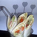 recette Wraps saumon avocat