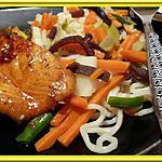 recette Saumon laqué au Miel & Soja