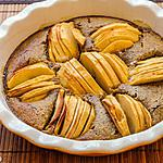 recette Gâteau aux pommes et noisettes