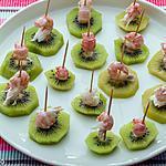 recette Kiwis aux langoustines