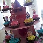 recette Le château des Cupcakes Princesses d'Anniversaire
