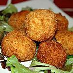 recette Croquettes de pommes de terre au bleu