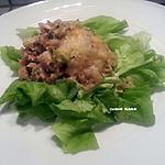 recette Portobello farci au saumon et brocoli
