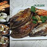 recette Endives braisées aux darnes de saumon.
