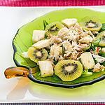 recette Salade de crabe au kiwi