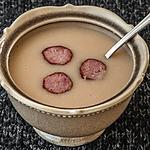 recette Soupe de haricots blancs aux saucisses fumées