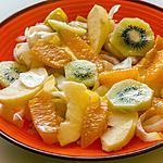 recette Salade d'endives aux fruits