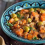 recette tajine d'agneau au potiron,olives et miel