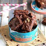 recette Brownie aux noisettes,noix et pépites de chocolat