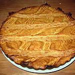 recette galette des rois francomtoise