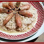 recette Crevettes au Curry Vert