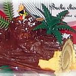 Buche de Noel chocolat & café