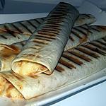 recette Wraps panini a l'italienne
