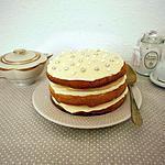 recette Naked cake au Golden Syrup