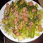 recette Salade d asperges vertes au thon