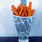 recette Frites de courge butternut au four (compatible dukan)