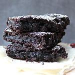 recette Brownies aux haricots rouges et piment d'Espelette (sans gluten, option vegan)